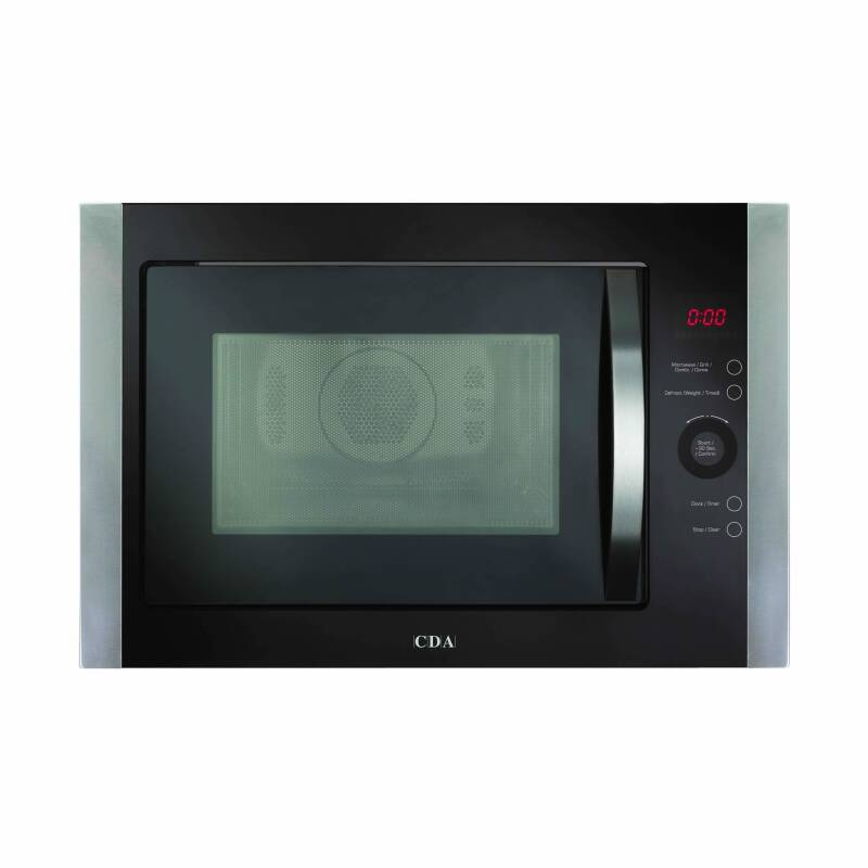 CDA H388xW594xD470 Compact Combi-Microwave - Stainless Steel primary image