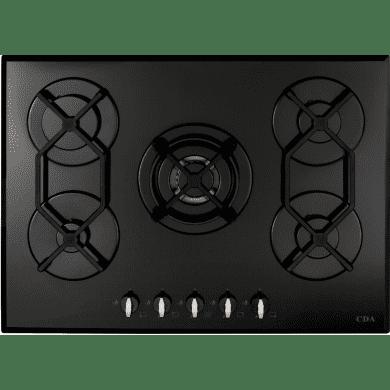 CDA H44xW700xD515 Gas-on-Glass 5 Burner Hob