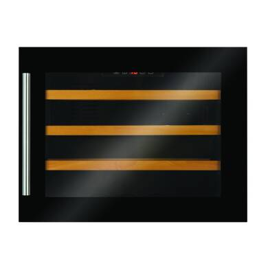 CDA H455xW590xD545 Integrated Compact Wine Cooler - Black