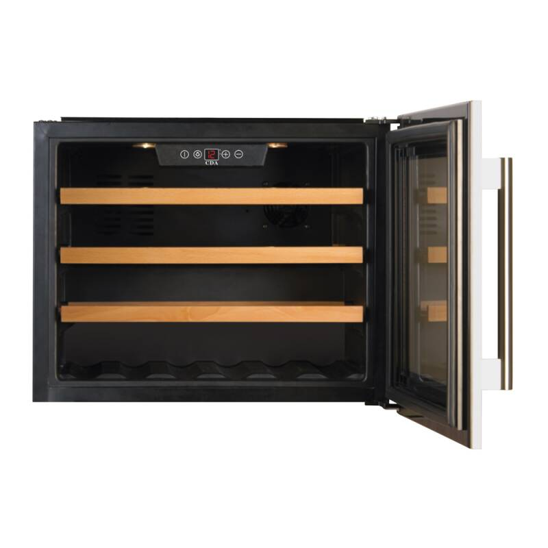 CDA H455xWX592xD563 Integrated Compact Wine Cooler additional image 1
