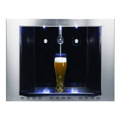 CDA H459xW595xD458 Compact Draught Beer Dispenser Stainless Steel