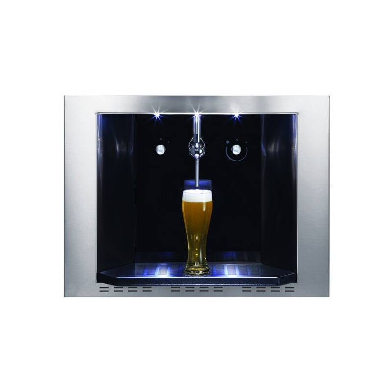 CDA H459xW595xD458 Compact Draught Beer Dispenser Stainless Steel primary image