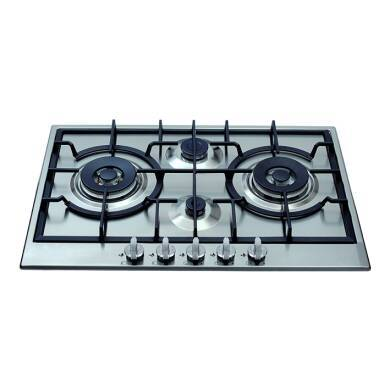 CDA H49xW750xD510 Gas Hob 4 Burner - Stainless Steel