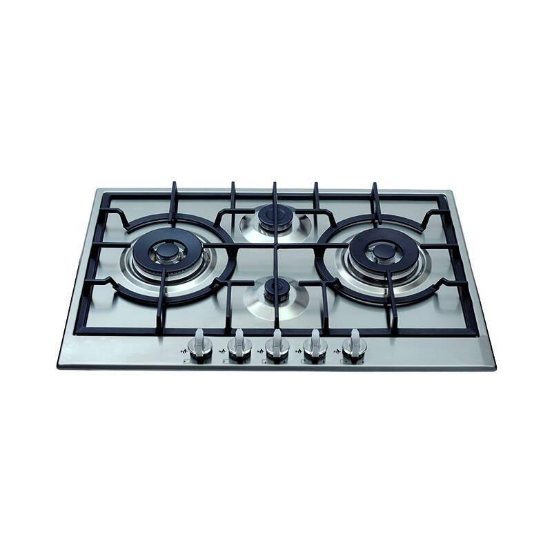CDA H49xW750xD510 Gas Hob 4 Burner - Stainless Steel primary image
