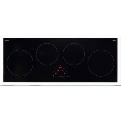 CDA H50xW900xD350 4 Zone Induction Hob - Black