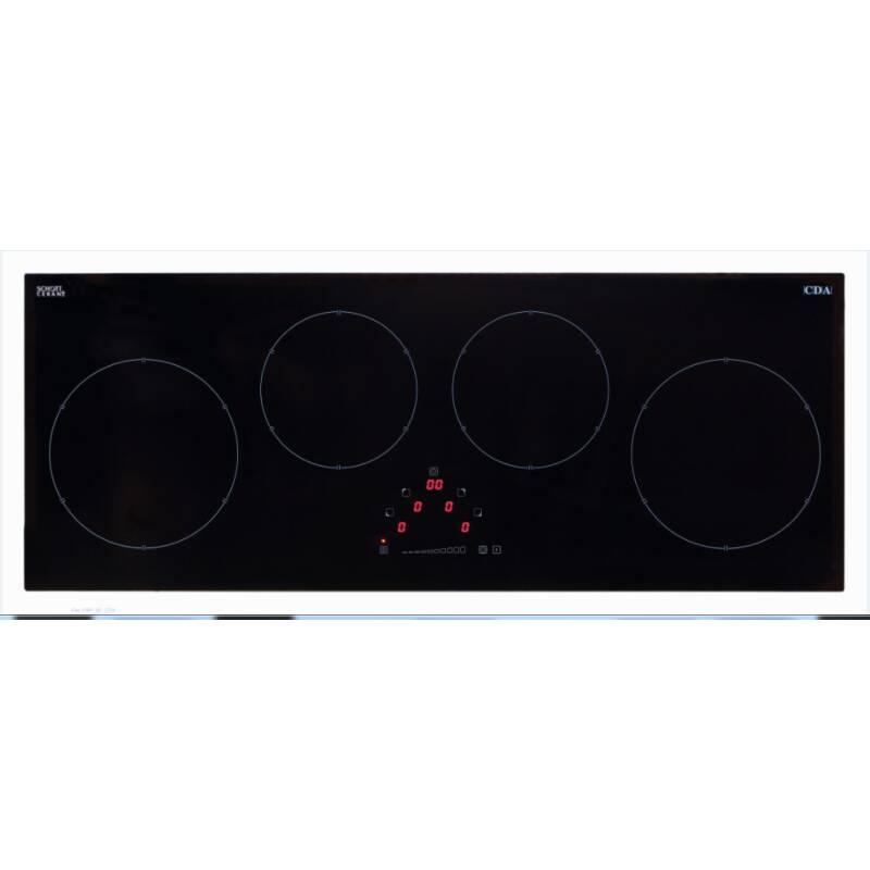 CDA H50xW900xD350 4 Zone Induction Hob - Black primary image