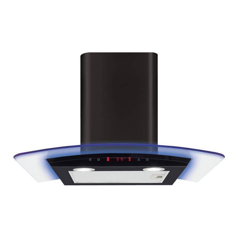 cda h540xw600xd490 curved lit edge extractor wren kitchens. Black Bedroom Furniture Sets. Home Design Ideas