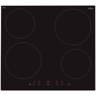 CDA H55xW576xD518 4 Zone Induction Hob