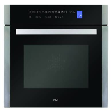 CDA H594xW597xD570 Single Multi-Function Oven - Stainless Steel