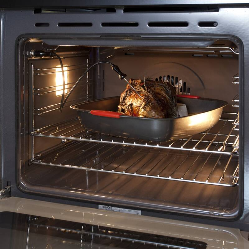 CDA H594xW597xD570 Single Multi-Function Oven - Stainless Steel additional image 2