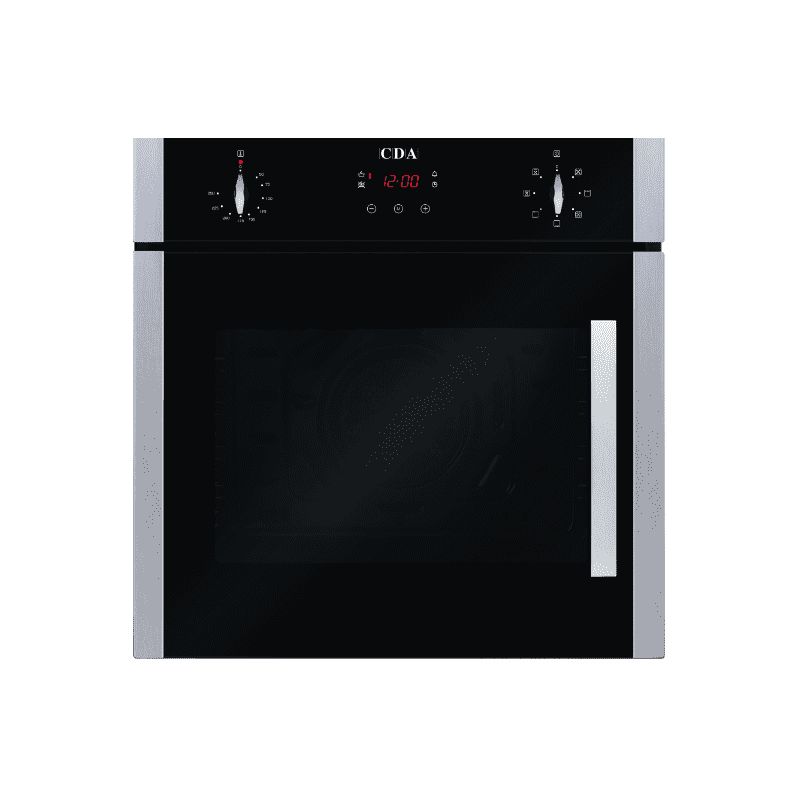 CDA H595xW595xD547 Single Multi-Function Side Opening Oven - Stainless Steel primary image