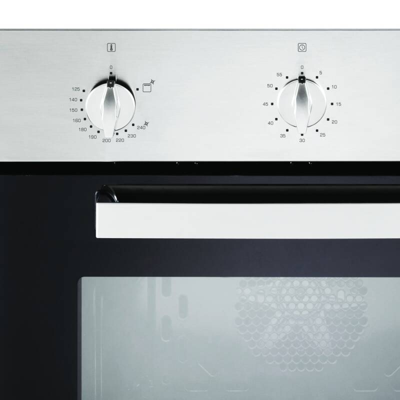 CDA H595xW595xD559 Single Gas Oven - Stainless Steel additional image 2