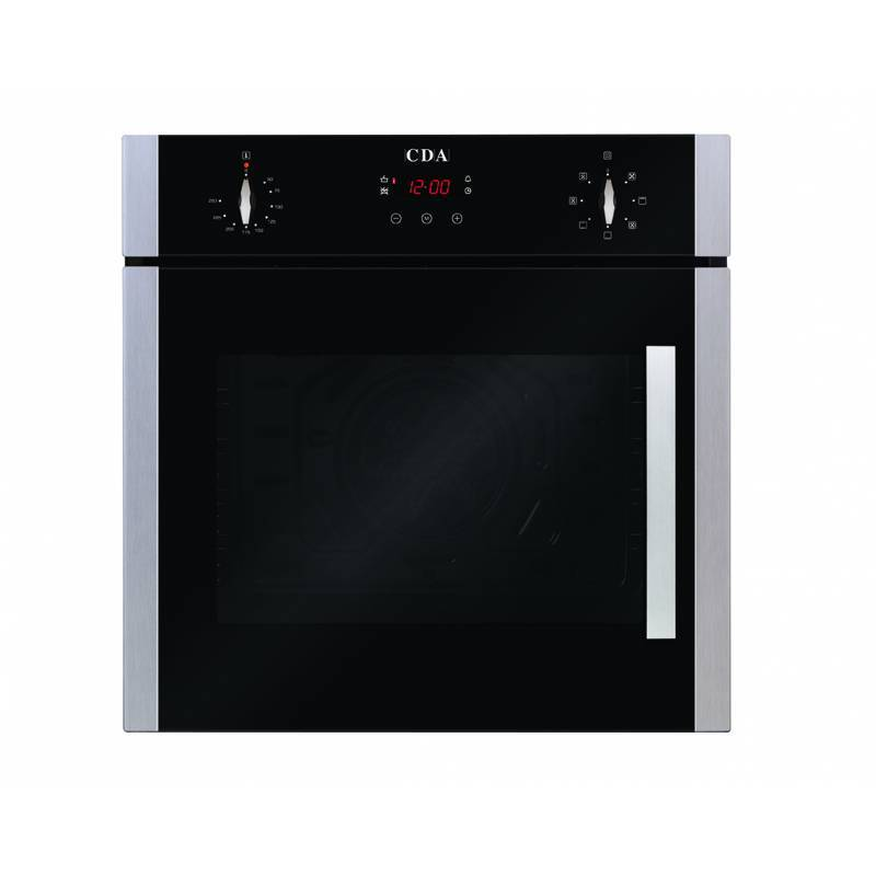CDA H595xW595xD564 Single Multi-Function Side Opening Oven - Stainless Steel additional image 2