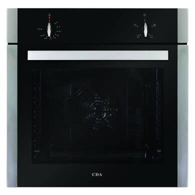 CDA H595xW595xD567 Single Electric Fan Oven