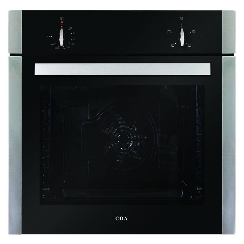 CDA H595xW595xD567 Single Electric Fan Oven primary image