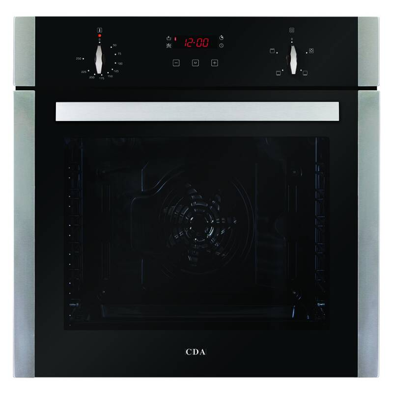 CDA H595xW595xD567 Single Electric Fan Oven - Stainless Steel primary image