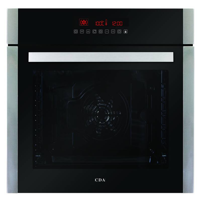 CDA H595xW595xD567 Single Multi-Function Oven - Stainless Steel primary image