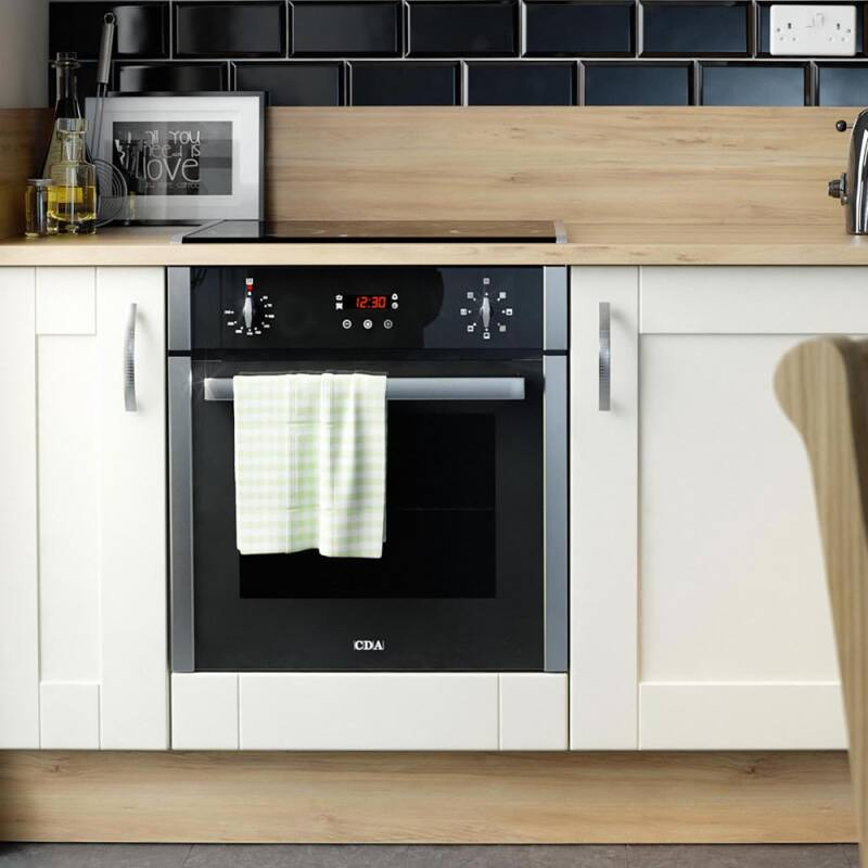 CDA H595xW595xD567 Single Multi-Function Oven - Stainless Steel additional image 1