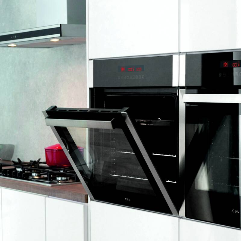 CDA H595xW595xD567 Single Multi-Function Oven - Stainless Steel additional image 2