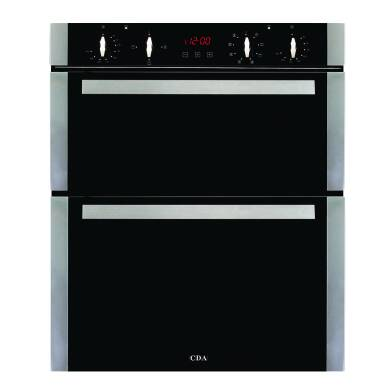 CDA H718xW595xD564 Built Under Electric Double Oven - Stainless Steel
