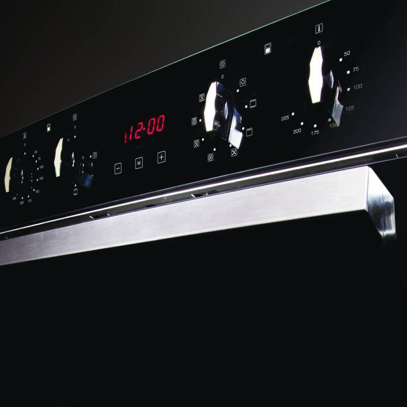 CDA H718xW595xD564 Built Under Electric Double Oven - Stainless Steel additional image 1