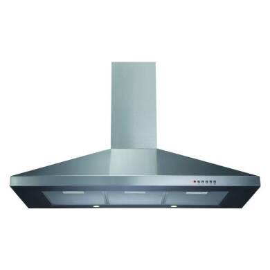 CDA H720xW1000xD500 Chimney Cooker Hood - Stainless Steel