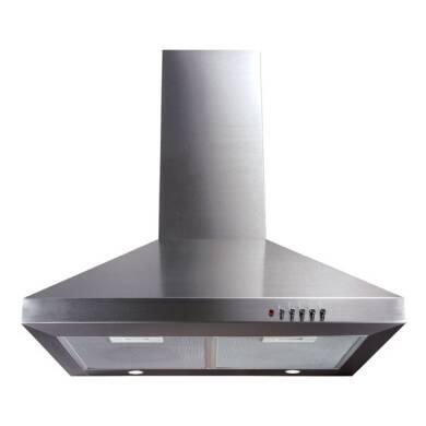 CDA H720xW600xD500 Chimney Cooker Hood - Stainless Steel