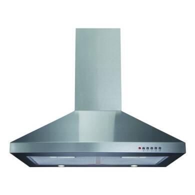 CDA H720xW700xD500 Chimney Cooker Hood - Stainless Steel