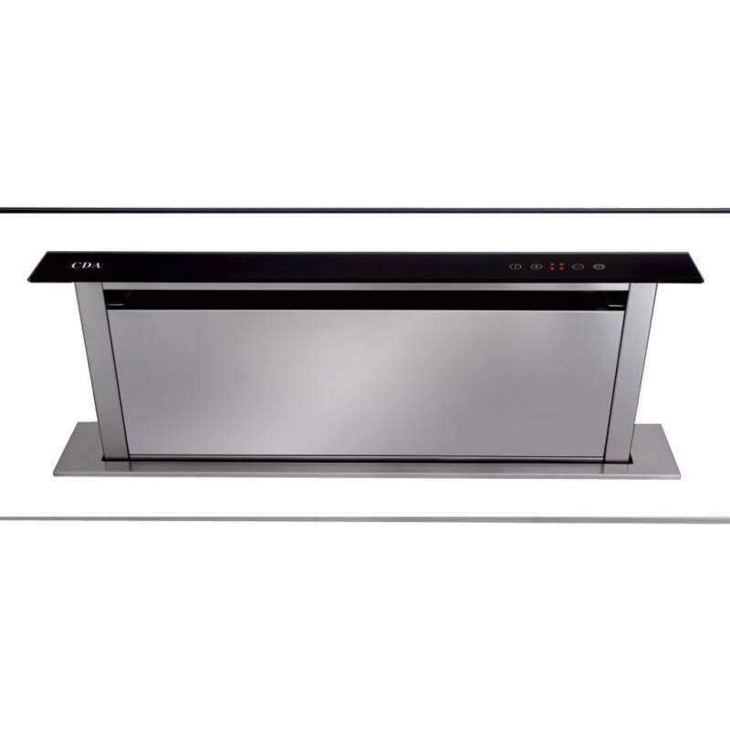 CDA H720xW860xD116 Downdraft Integrated Cooker Hood - Black primary image