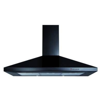 CDA H820xW1000xD500 Chimney Cooker Hood - Black