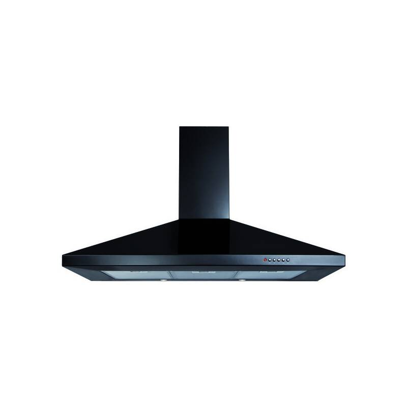 CDA H820xW1000xD500 Chimney Cooker Hood - Black primary image