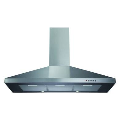 CDA H820xW1000xD500 Chimney Cooker Hood - Stainless Steel