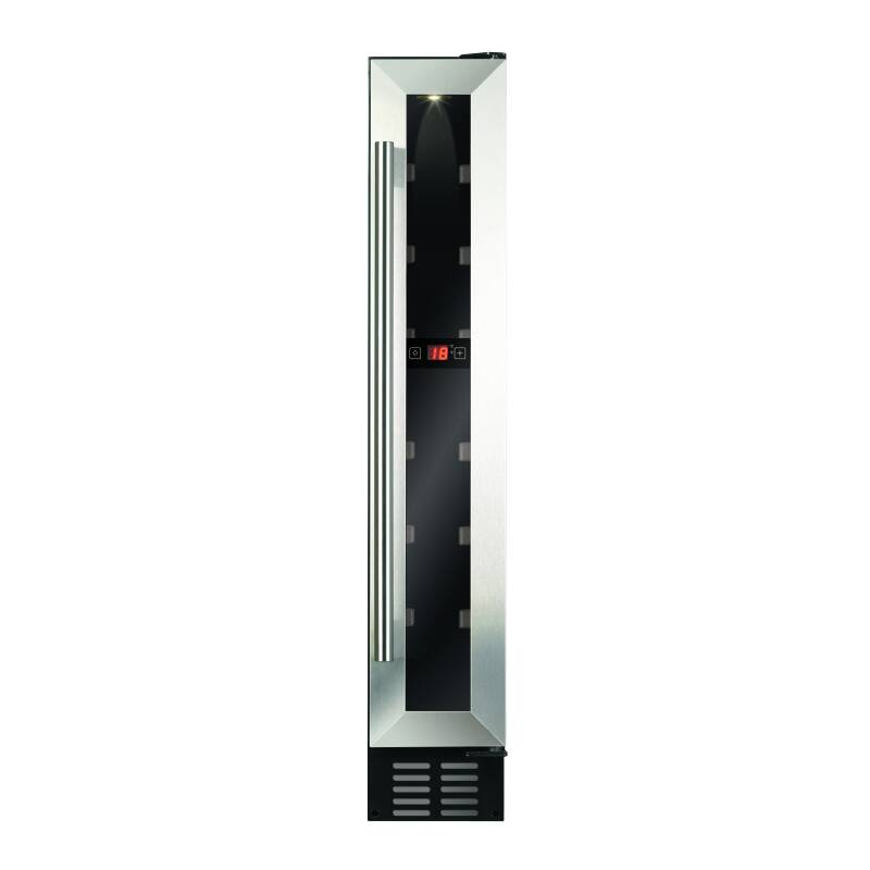 CDA H820xW148xD525 Under Counter Wine Cooler - Stainless Steel primary image