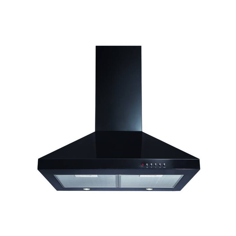 CDA H820xW600xD500 Chimney Cooker Hood - Black primary image