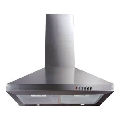 CDA H820xW600xD500 Chimney Cooker Hood - Stainless Steel