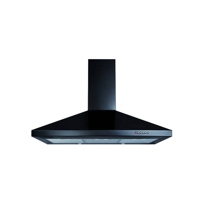 CDA H820xW900xD500 Chimney Cooker Hood - Black primary image