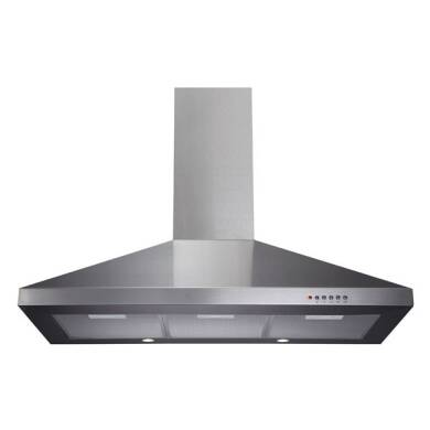 CDA H820xW900xD500 Chimney Cooker Hood - Stainless Steel