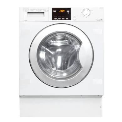 CDA H825xW595xD520 Fully Integrated Condenser Washer Dryer (6kg)