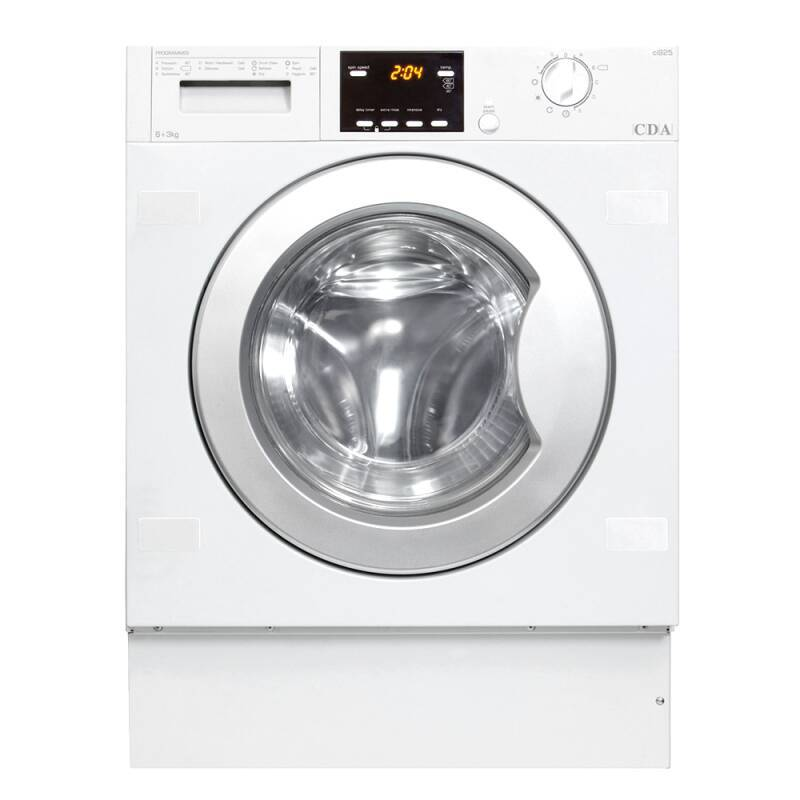 CDA H825xW595xD520 Fully Integrated Condenser Washer Dryer (6kg) primary image
