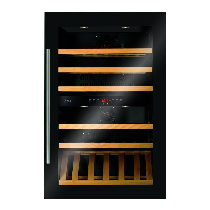 CDA H884xW590xD545 Integrated Dual Zone Wine Cooler primary image