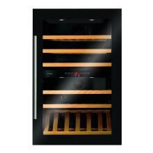 CDA H884xW590xD545 Integrated Dual Zone Wine Cooler - Black