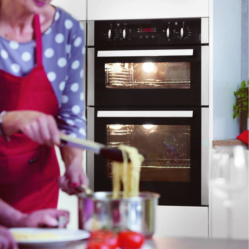 CDA H888xW595xD562 Built-In Electric Double Oven additional image 2