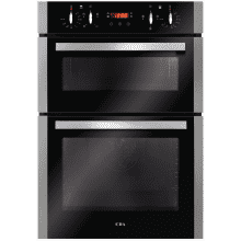 CDA H888xW595xD564 Built-In Electric Double Oven - Stainless Steel
