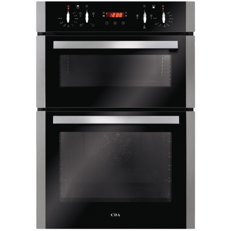 CDA H888xW595xD564 Built-In Electric Double Oven - Stainless Steel primary image