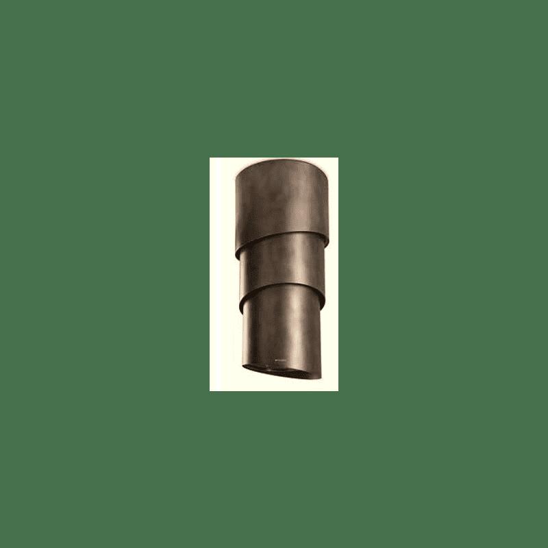 Faber H1089xW500xD500 Pareo Plus Island Hood - Tibetan Silver primary image
