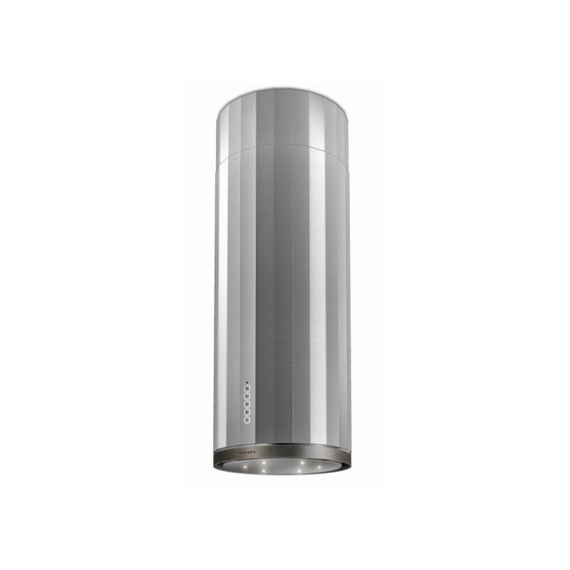 Faber H1215xW370xD370 Corinthia Island Cooker Hood - Stainless Steel / Old Metal primary image
