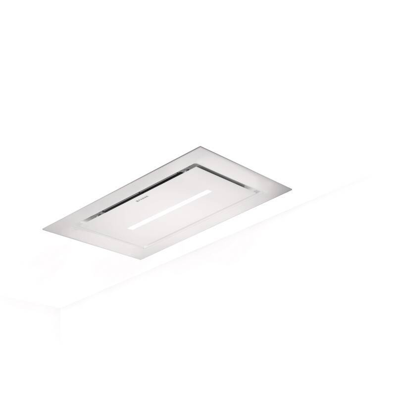 Faber H319xW1200xD700 Heaven Lite Ceiling Hood - White Glass primary image