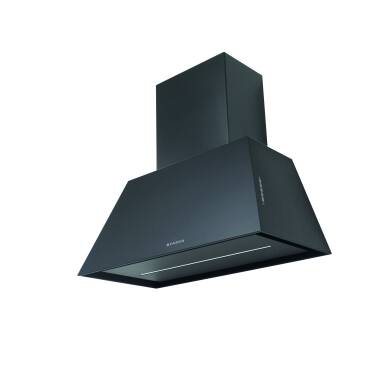 Faber H320xW700xD351 Chloe Wall Mounted Cooker Hood - Dark Grey Matt