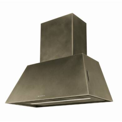 Faber H320xW700xD351 Chloe Wall Mounted Cooker Hood - Old Brass