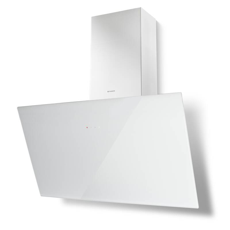 Faber H382xW798xD378 Tweet Wall Mounted Cooker Hood - White primary image
